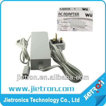 Main AC Power Cable Adapter Supply Charger Plug For Nintendo Wii -New(JT-1400713)