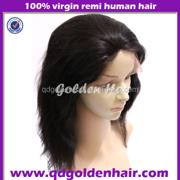Top Quality Besting Selling Soft And Smooth Remy Hair Brazilian Virgin Lace Front Wigs