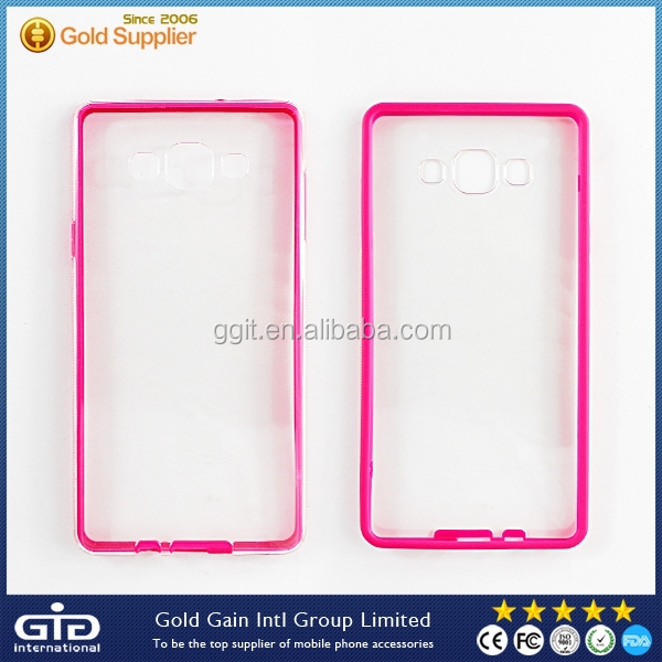 GGIT Transparent Ultra Slim Case for Samsung A7