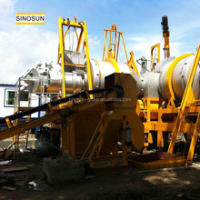 SINOSUN low cost QLB60 used asphalt plant,mobile asphalt mixing plant for sale