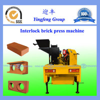 M7M1Latest professional interlocking brick making machine with large capacity