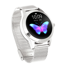 women SmartWatch KW10 with Blood pressure Heart Rate Monitor Lady <strong>Smart</strong> <strong>Watch</strong> 2019