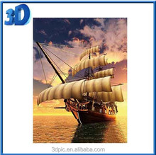 3D Art Picture 3D lenticular Beautiful Scenery Photo For Bedroom
