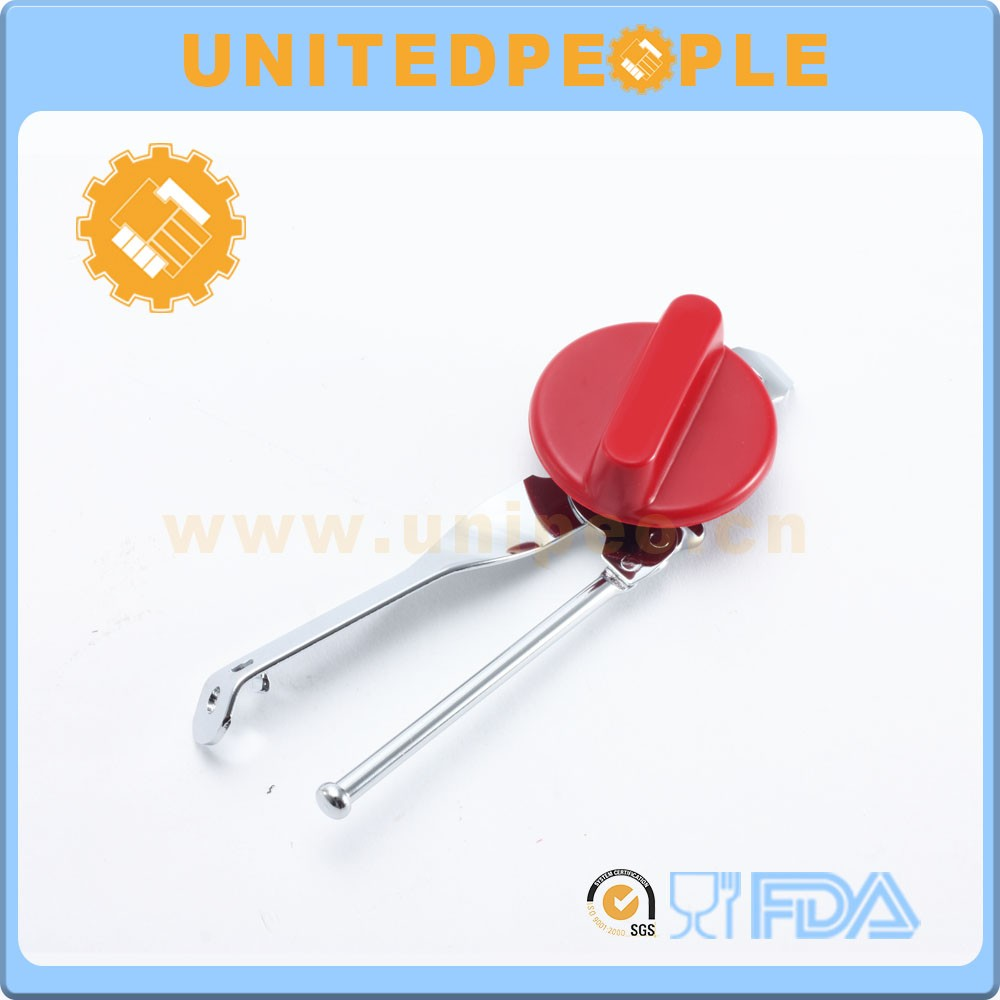 Manufacturer safety stainless steel custom can opener manual gadget
