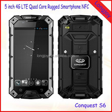 5 inch Octa Core Waterproof 4G LTE Rugged Cellphone with NFC