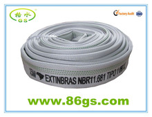 polyester woven fire hose for fire fighting