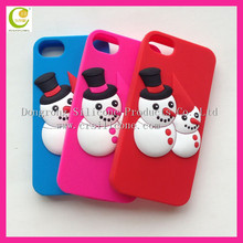 Welcome OEM your own design decorative silicone cellphone covers,christmas cellphone covers for iphone 4,cartoon cellphone cover