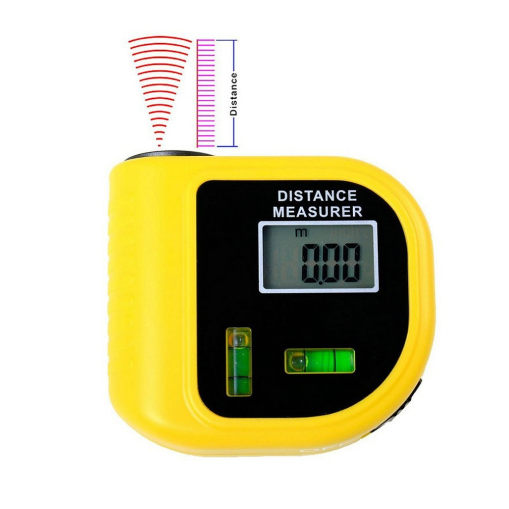 Handheld Laser Rangefinders Ultrasonic Distance Measurer Meter Range Finder