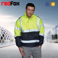 wholesale waterproof high visibility safety tad shark skin soft shell jacket