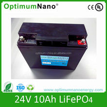 Rechargeable 24v 10Ah LiFePO4 Battery Packs