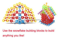 Snow Australia puzzle plastic building blocks for children, building blocks assembled engineering plastic building block toy