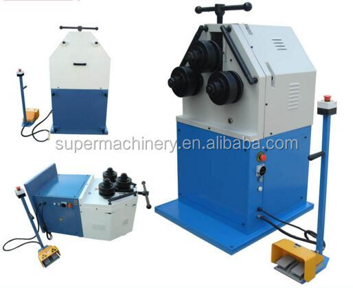Small Profile Section Manual Round Bending Machine