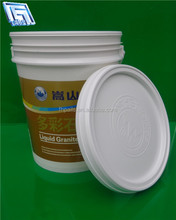 high quality 5 gallon plastic drum with cover and handle