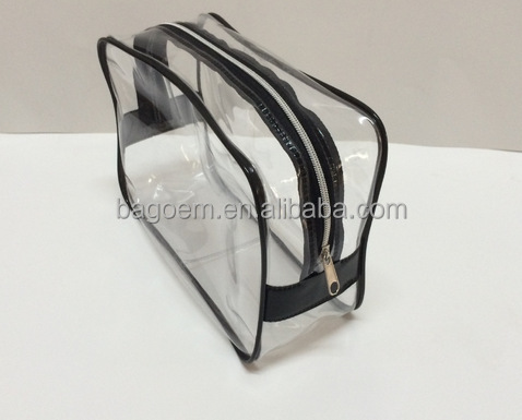 custom eco pvc toiletry bag bag
