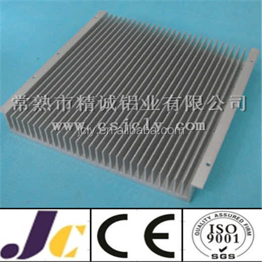 High quality 6063 anodizing aluminium radiator profile