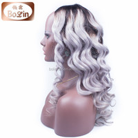 2015 China fashion Cosplay wig,Brazilian virgin hair, human hair wig for black women