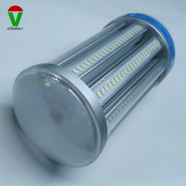 ac85-277v clear milky cover dustproof e40 100w <strong>led</strong> corn light 360 degree <strong>led</strong> bulb smd5730