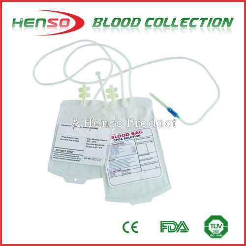Henso Double Blood Collection Bag