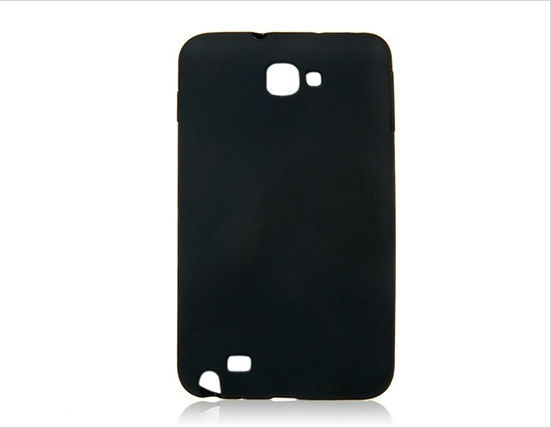 TPU Protective Case for Samsung Galaxy Note I9220 (Black)