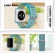 YH96 38mm 42mm band for watch series 1 2 woven nylon band strap for Watch colorful pattern classic buckle