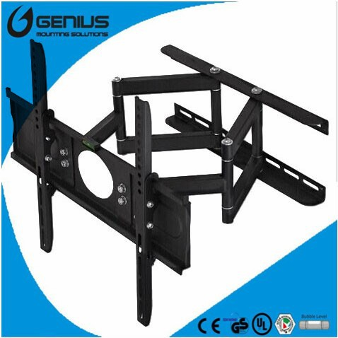 Articulating cantilever 180 360 swivel tv wall mount bracket