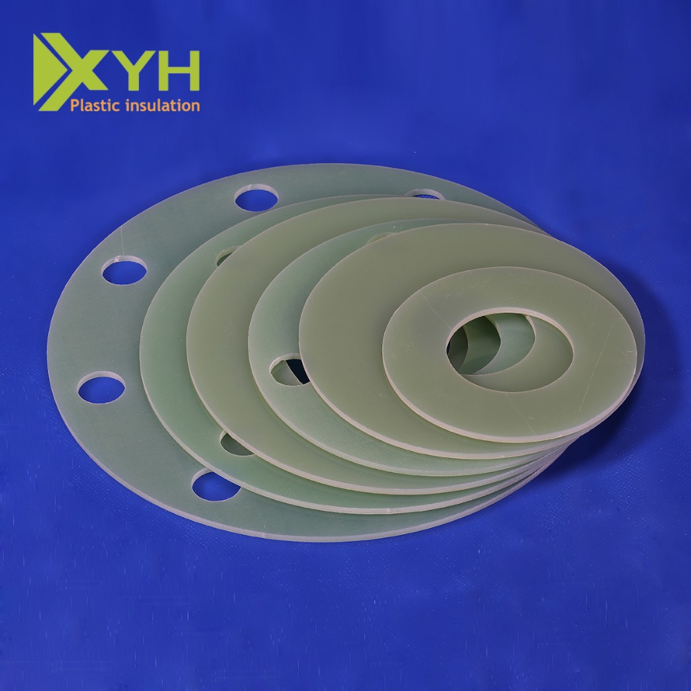 Insulation plastic 3240 fr4 g10 g11 epoxy fiberglass laminating cnc processing washer