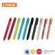 2018 Top Quality Cheap Promotional Plastic 6 Color Retractable ball Pen