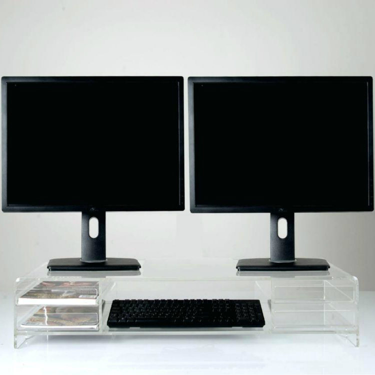 computer monitor stand with keyboard drawer keyboard tray computer monitor stand with keyboard
