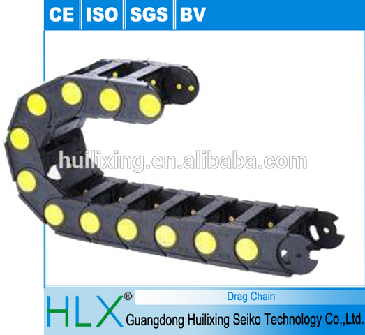 Flex Ethernet Cable Chain : High quality plastic chain flexible wire hose carrier