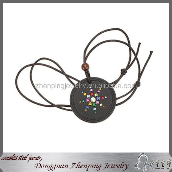 leather bracelet,quantum science scalar energy pendant