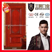 High quality solid wooden venner painting door for project