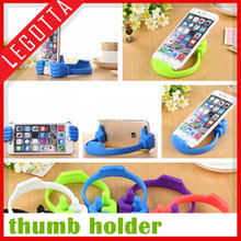 Wholesale bulk innovative design lovely silicone thumb holder for cell phone