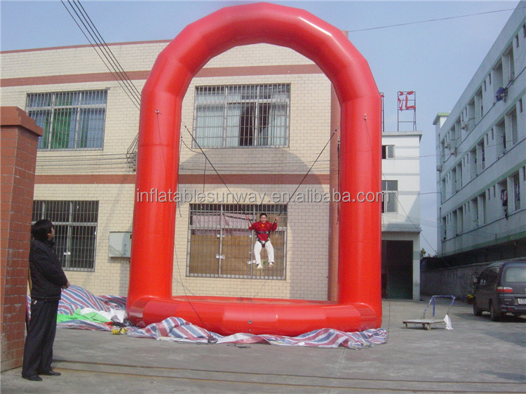 2016 Bungee Jumping inflatable game,inflatable funny games 18,inflatable adult games