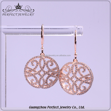 Factory Custom Latest Gold Designs Best Selling Products Fashion 925 Sterling Silver Earring