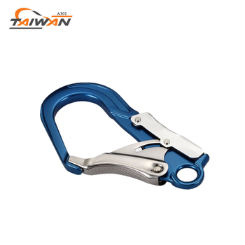 high level OEM carbon steel safety carabiner hook