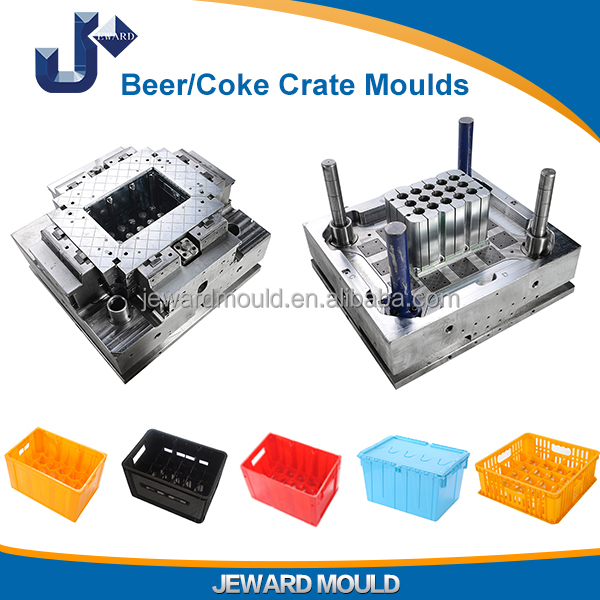 Wholesale New Age Products Beer/Coke Crate Metal Molds For Plastic Injection