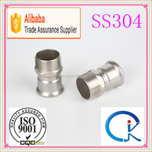 Stainless Steel Male Threaded Quick Coupling Pipe Press Fitting