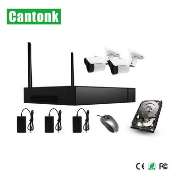 new h.265 h.265+ 2ch wifi kits with 1080p ip camera wifi
