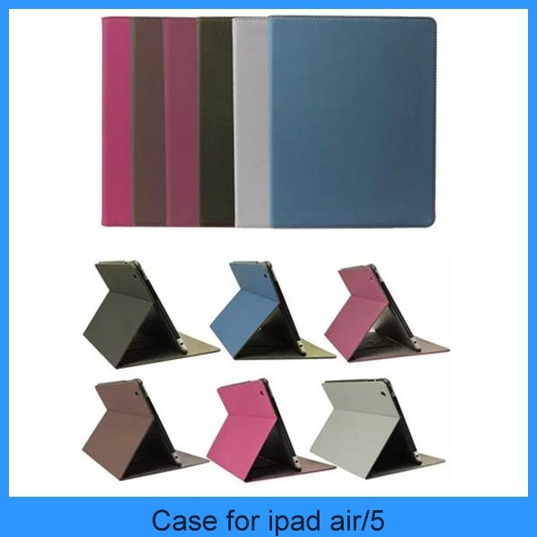 Top Selling Geniune Leather Cover With Inner Matt Case For ipad 2,3,4,5,6