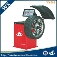2016 Most Popular Machine Automatic Used Wheel Balancer, Wheel balancing and wheel alignment machine WX-90B