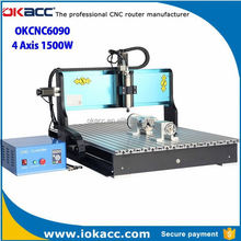 2015 new machine ice carving tools for okacc factory 6090 800w 4 axis with parallel port high efficiency