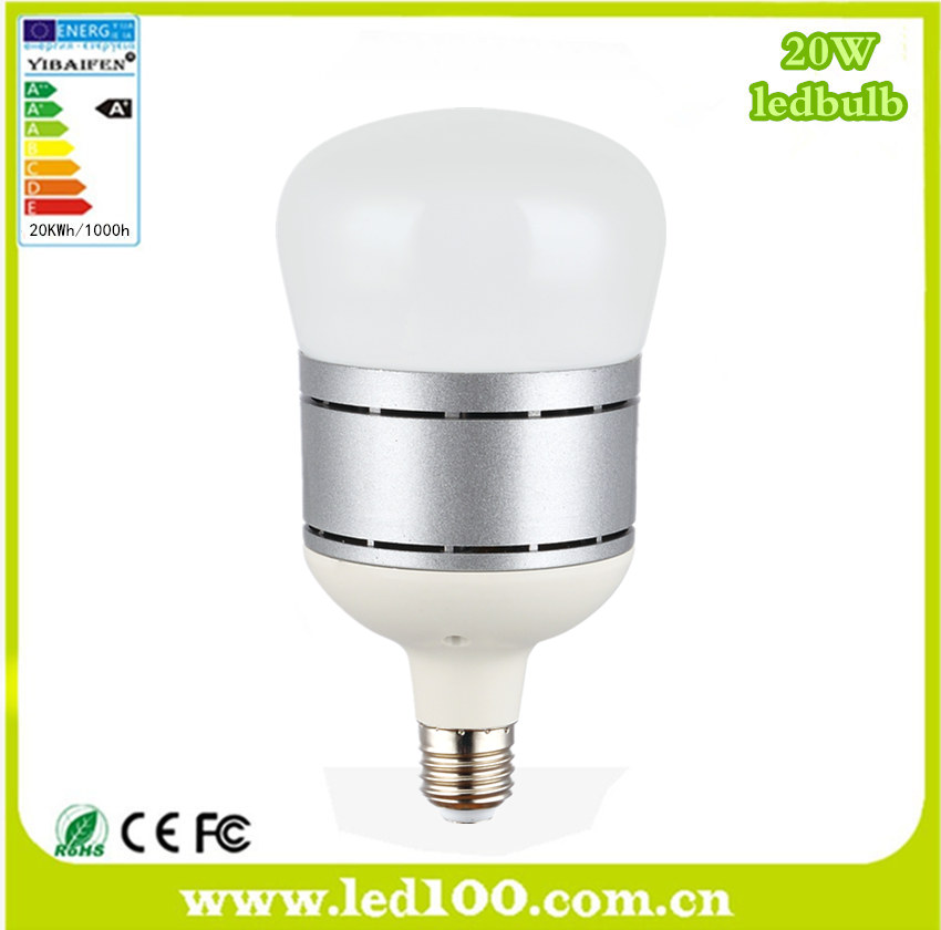 Super bright highbay 20W LED E27 light bulb