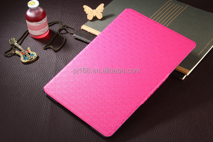 Wholesale Mini Maze Texture Stand Tablet Leather Case for Ipad 6