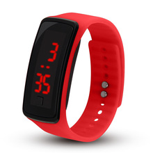 Promotional Gift Adjustable LED digital silicone Child hand watch/fashion kids wrist watch