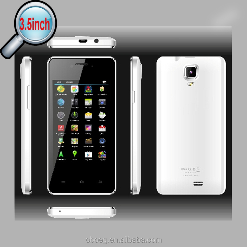 "dropshipping mobile phone/2015 popular mk6572A mobile phone dual core /cheap 3.5"" android smartphone oem/odm"