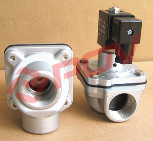 High frequency 25mm 8bar thread alloy body solenoid valve