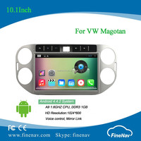 2din 10.1inch Android 4.4 Car DVD player for VW Magotan with Radio GPS BT MP3 wifi 3g free map