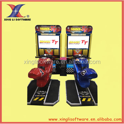 42'LCD TT Motor ,simulator arcade racing car game machine