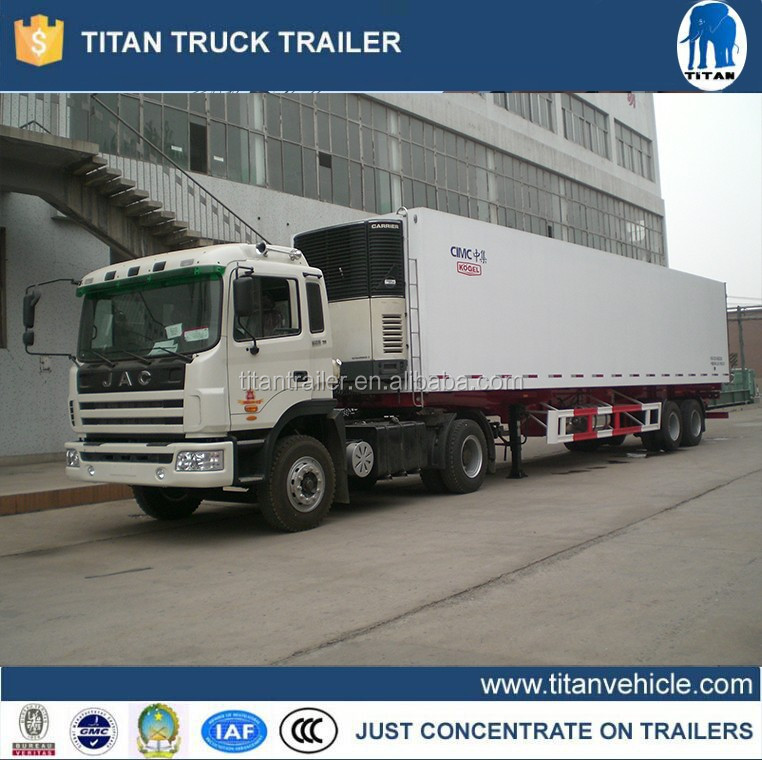 Refrigerator freezer truck , refrigerated truck box