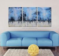 Wall Decor Original Modern Abstract Art Oil Painting